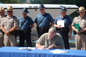 Gov. Nixon signs bill merging State Water Patrol with State Highway Patrol