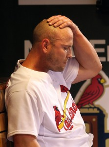 Matt Holliday UPI/Bill Greenblatt