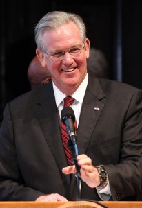 Gov. Jay Nixon UPI/Bill Greenblatt