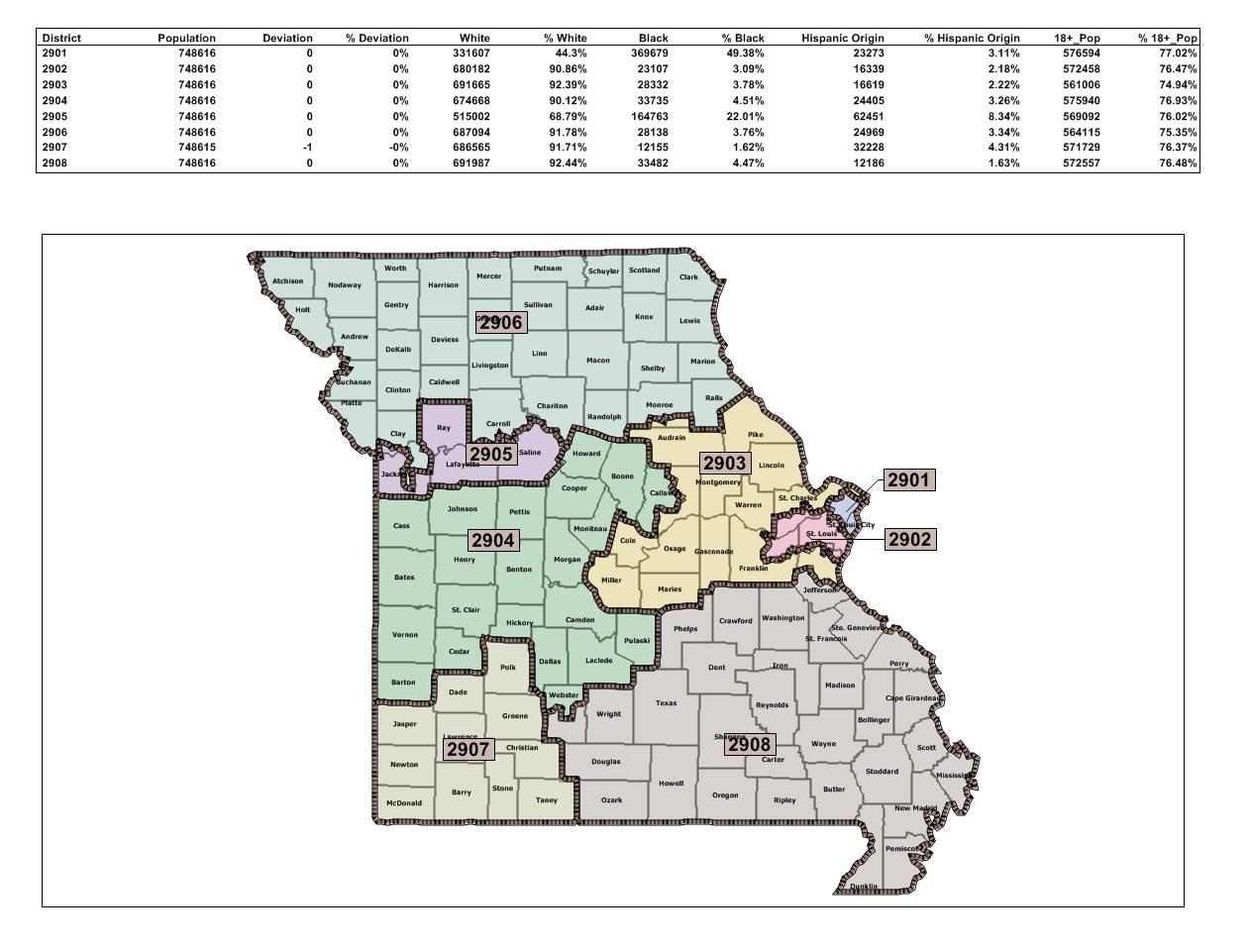 Senate Version Of Redistricting Map Cuts Congressman From ...