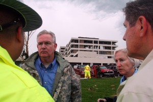 Tornado hits Joplin,Missouri