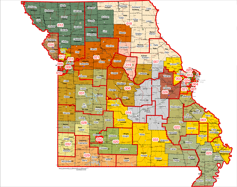 Legislators Pore Over New District Maps Audio Missourinet