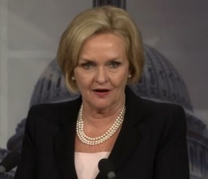 Senator Claire McCaskill (D-Missouri)