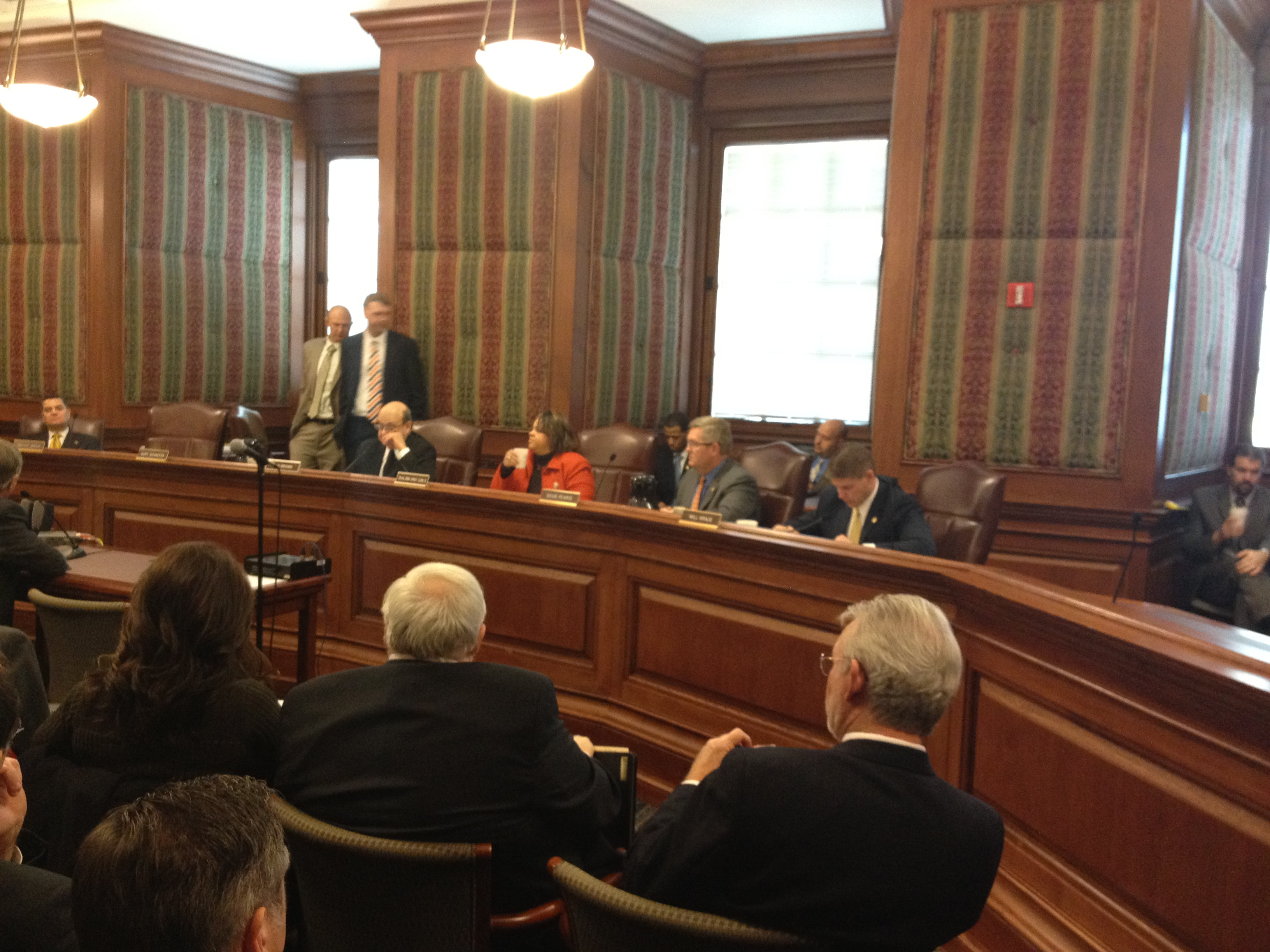 Appropriations committee hears higher education funding ...