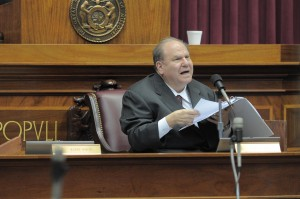 Justice Richard Teitelman (Photo courtesy Tim Bommel, House Communications