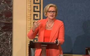 U.S. Senator Claire McCaskill (D-Missouri)