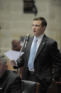 Representative Paul Curtman (picture courtesy, Missouri House of Representatives)