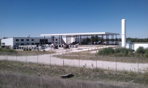 The Mamtek facility sits empty at the north end of Moberly.