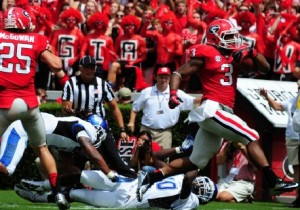 Todd Gurley (courtesy Georgia Athletics)