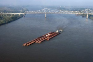 Two unions say after next week, barges on the Mississippi River will have to remain tied up until as late as April unless the Corps of Engineers releases more water into the Missouri River or the Midwest gets lots more rain.