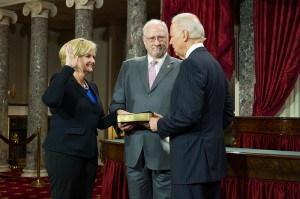 Claire McCaskill swear in 2013
