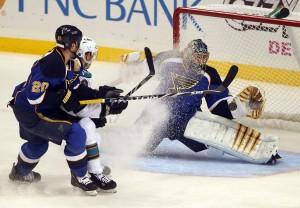The NHL and Blues hockey will be back for a shortened season. UPI/Bill Greenblatt files