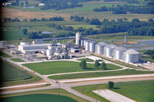 POET Biorefining has announced it will suspend operations at its ethanol plant in Macon due to the drought, and will continue making $14.5 in upgrades to it.  (Photo courtesy; POET biorefining)