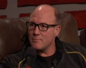 Scott Pioli during his appearance on the Dan Patrick Show.