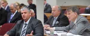 Representatives Tony Dugger and Stanley Cox (photos courtesy; Tim Bommel, Missouri House Communications.)