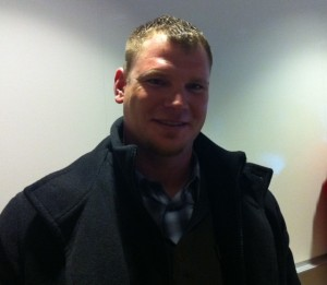 Joe Crede visits with Missourinet after learning of Missouri Sports Hall of Fame selection.