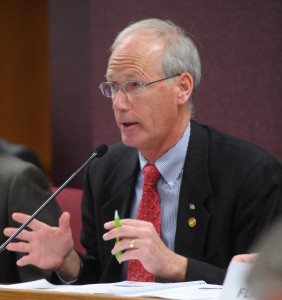 House Budget Committee Chairman Rick Stream (R-Kirkwood) (photo courtesy; Tim Bommel, Missouri House Communications)