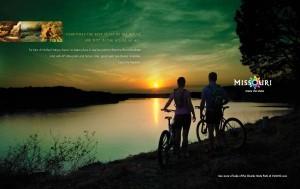 Missouri Tourism print ad 1
