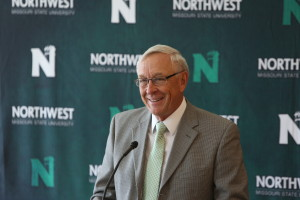 Mel Tjeerdsma, hall of fame coach, will now oversee NW Missouri State's athletic department. (Darren Whitley, NWMS)