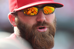 Jason Motte will get three more weeks to rehab his elbow before surgery becomes a serious option.  UPI/Bill Greenblatt