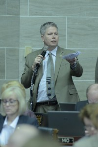 Representative Jeff Roorda (photo courtesy; Tim Bommel, Missouri House Communications)