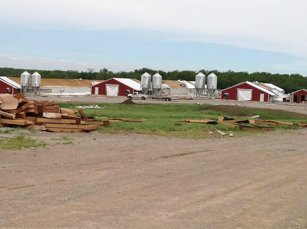 Update Weather Service Finds Evidence Of Ten Tornadoes In