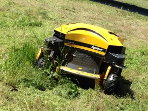 MoDOT bought the Spider ILD02 remote controlled mower for $40,000 this year.