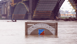 Flooding continues on St. Louis riverfront