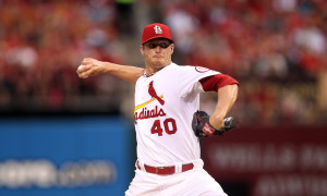 St. Louis Cardinals starting pitcher Shelby Miller delivers a pitch to the Philadelphia Phillies in the second inning at Busch Stadium in St. Louis on July 23, 2013.   UPI/Bill Greenblatt