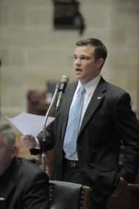 Representative Paul Curtman (photo; Missouri House Communications)