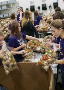 The Missouri Food Bank Association is concerned about meeting demand if Congress votes to cut the food stamp program.