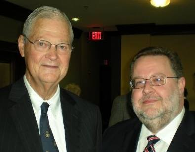 With House Armed Services Committee Chairman Ike Skelton, 2010.