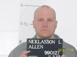 Allen Nicklasson (courtesy; Missouri Department of Corrections)