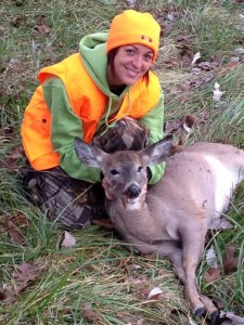 home a doe during opening weekend, which she shot in Moniteau County