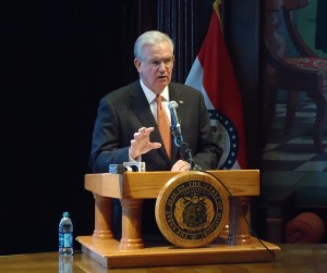 Governor Jay Nixon today announced that by executive order he would instruct the Department of Revenue to accept jointly filed tax returns from all legally married couples, including same-sex couples.