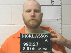 Allen Nicklasson in 2005 (courtesy; Missouri Department of Corrections)