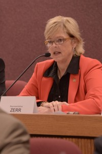 St. Charles representative Anne Zerr is carrying the Boeing incentive proposal in the House.