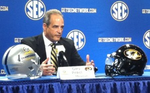 Gary Pinkel discusses the SEC Championship game down in Atlanta