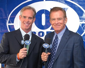 Tim McCarver (r) along with Fox Baseball partner Joe Buck in an udated photo.