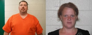 Authorities are looking for Preston Wayne Ferris (left) and Anastasia Lynn McDaniel, believed to have 6-month-old Mitchell Farris with them.