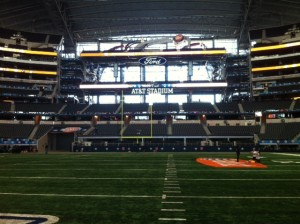 Mizzou and Oklahoma State will be playing in front of over 70,000 fans inside AT&T Stadium in Arlington, TX