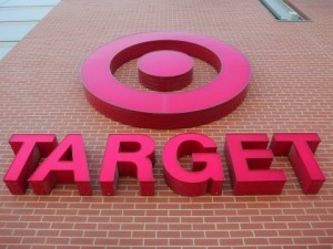 A sign at a Target Store (Scott Olson-Getty Images)