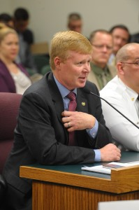 Representative Dave Hinson (photo courtesy; Tim Bommel, Missouri House Communications)