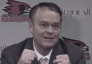 SEMO head coach Dickey Nutt