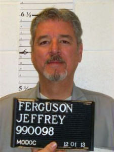 Jeffrey Ferguson (photo courtesy, Missouri Department of Corrections)