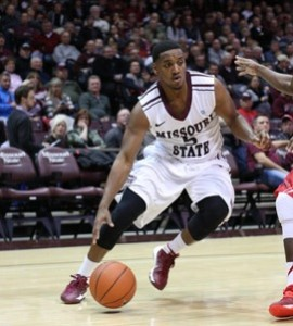 Jarmar Gulley will try to lead the Bears past unbeaten Wichita State on Saturday (Photo/MSU Athletics)
