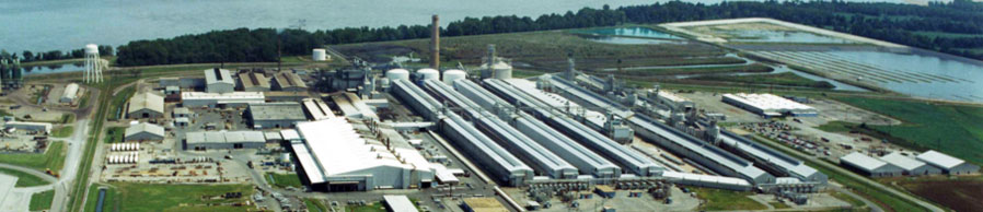 Noranda Aluminum runs a large smelting facility along the Mississippi River in New Madrid, Mo. (Noranda photo)
