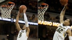 Jordan and Jabari, All-SEC selections. (photo/Mizzou Athletics)