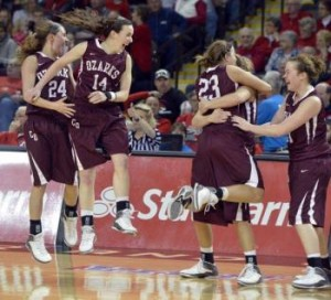 The Lady Bobcats saw their magical run in the NAIA tourney come to an end in the championship game. (photo/Bobcats athletics)