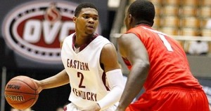 Southeast Missouri State met Eastern Kentucky in the OVC quarterfinals. (Photo/Colonels athletics)